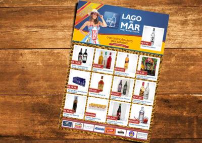 Panfleto de ofertas Lago